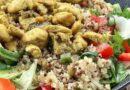 Kinoalı Tavuklu Salata Tarifi